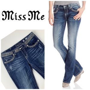 Miss Me Studded Bootcut Jeans👖